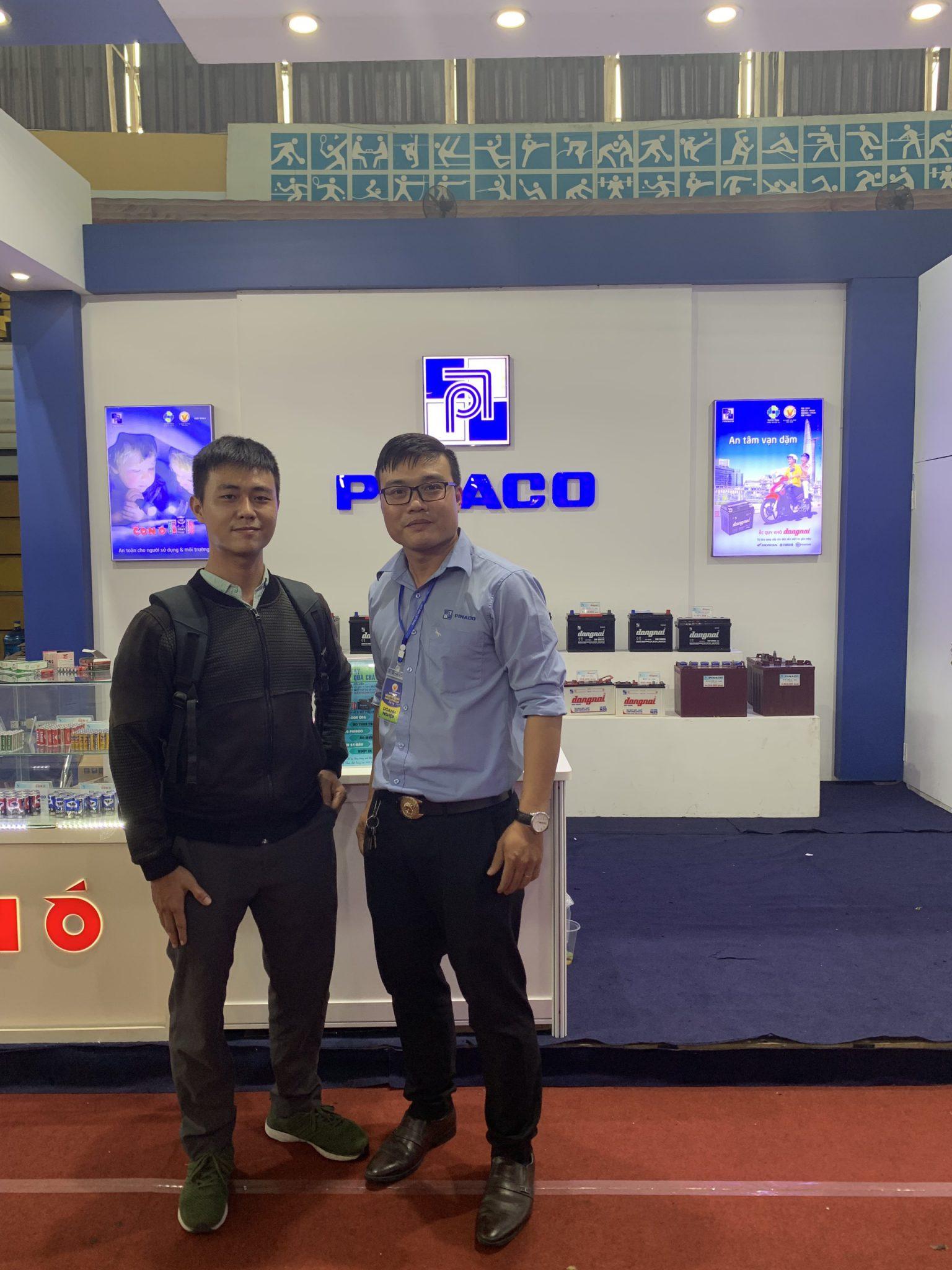 Kết nối với đại diện ắc quy Pinaco Miền Nam Việt Nam