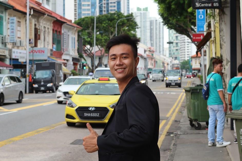 Hồi hộp cảm giác nôn nao trong chuyến hành trình Singapore.